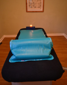 Relaxation massage on the Hydrotherm system