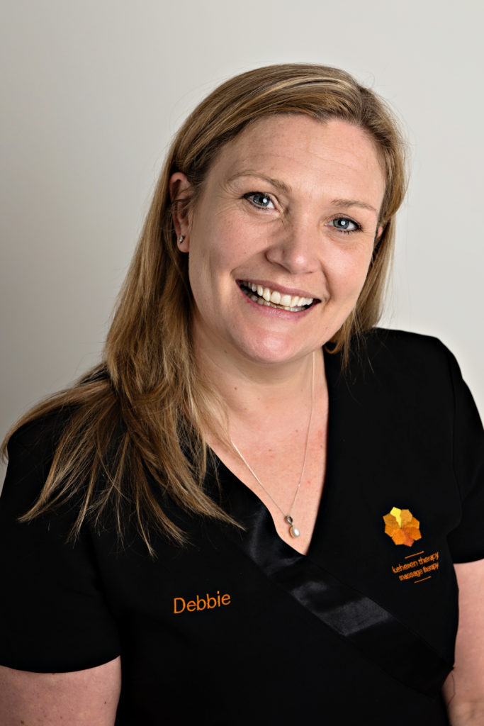 Debbie Slater. Massage therapist and owner of Keheren Therapy.