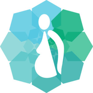 maternity massage and pregnancy massage icon
