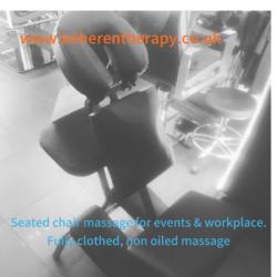 onsite chair massage london corporate