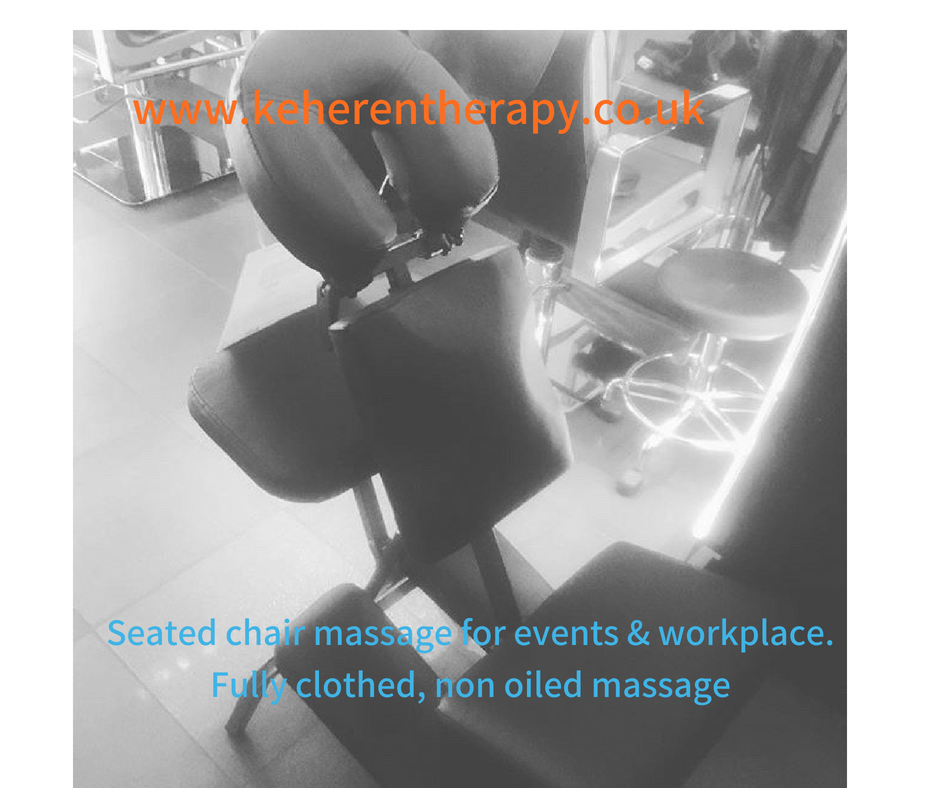 onsite chair massage london corporate