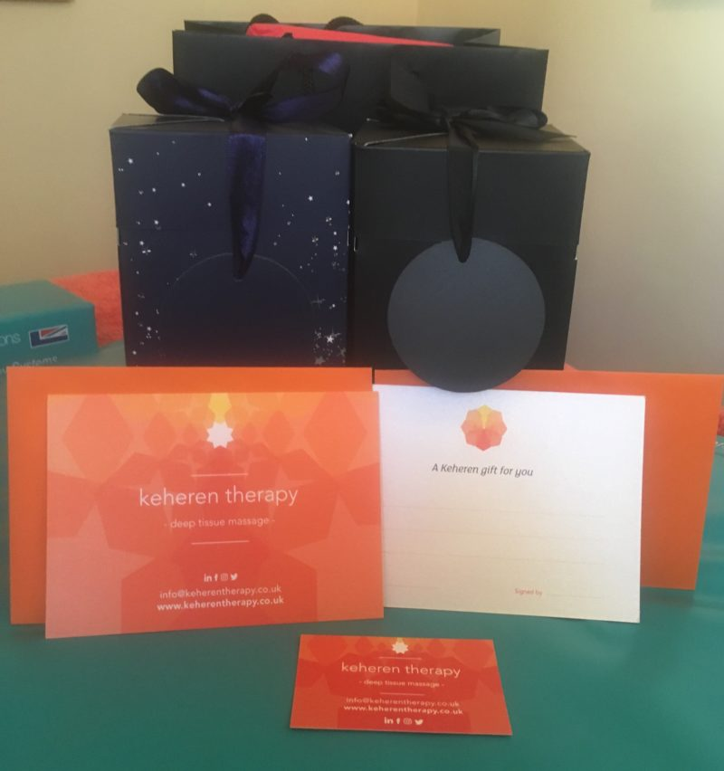 Massage Gift Vouchers: available at our Truro and Richmond branches